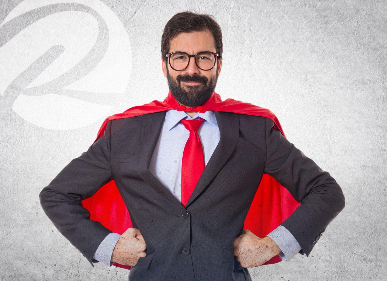 Super Hero Marketing Services - Red Wagon Studio - Contact Us